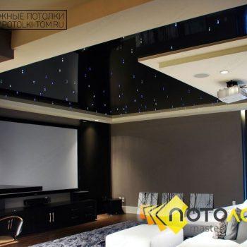 G: Натяжные потолки в частном доме