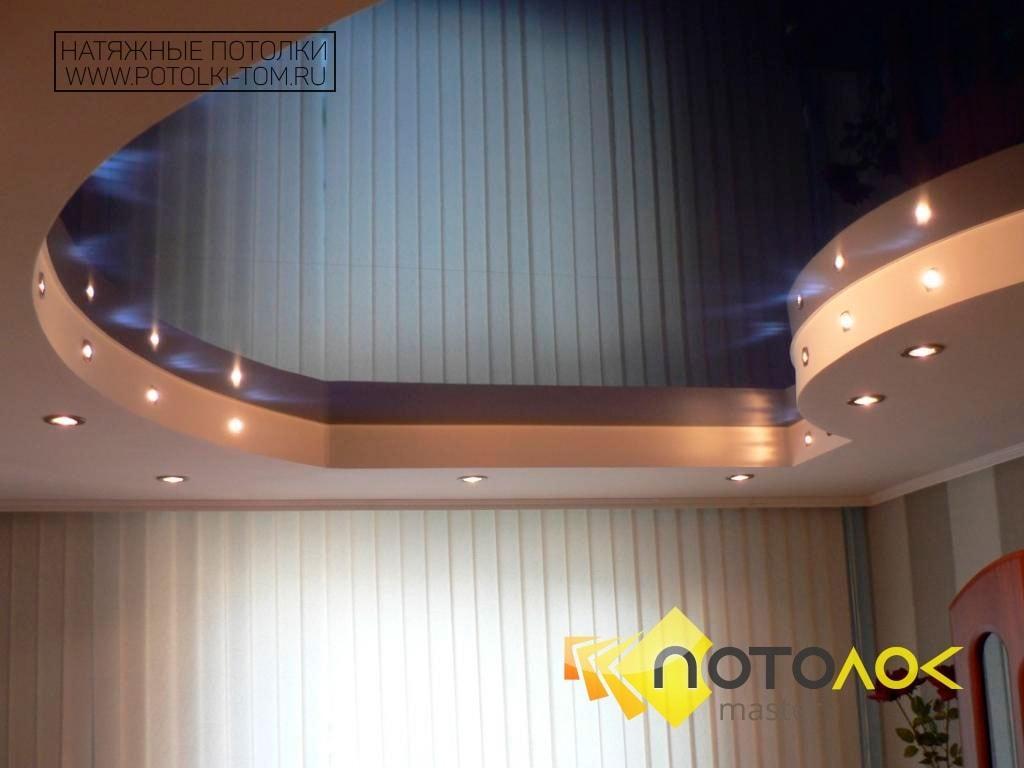 Как установить двухуровневый натяжной потолок | Строительный портал | 768x1024